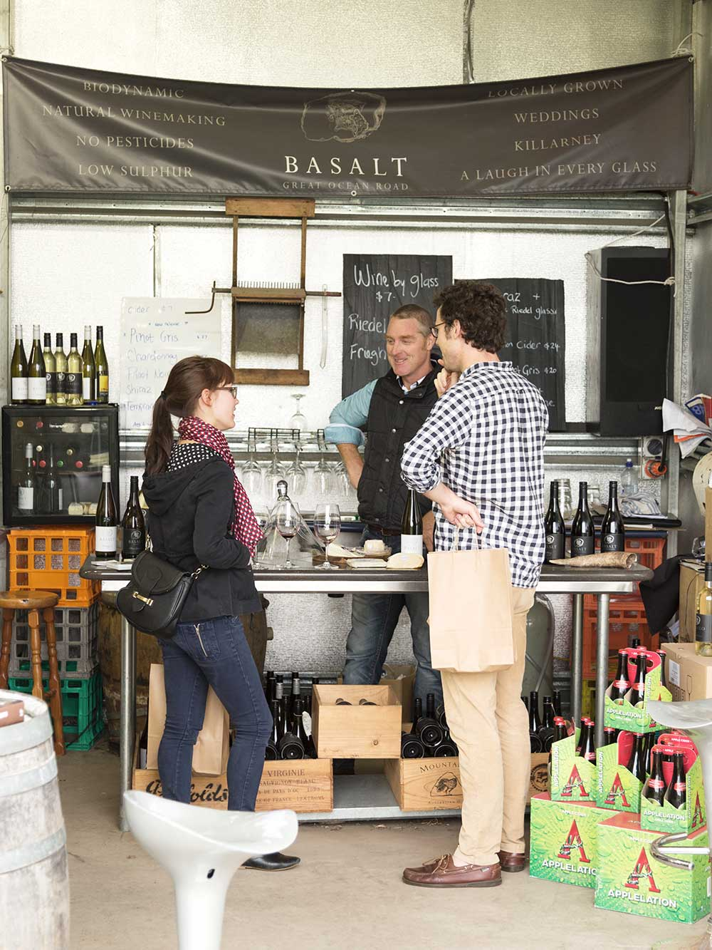 Balsalt Vineyard Port Fairy Cellar Door